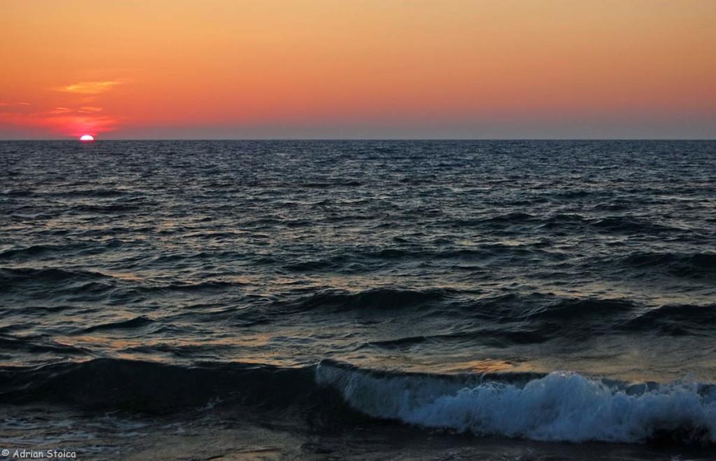 Apus de soare la Agios Ioannis, Lefkada