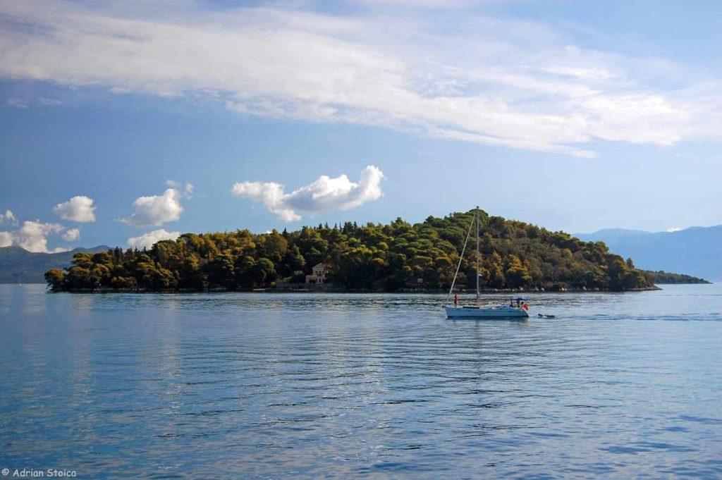 Printre insule, la inceput de croaziera