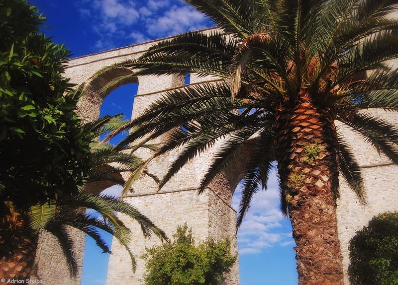 Apeductul Kamares - printre palmieri si portocali