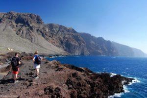 Acantilados de Los Gigantes - vedere de la Punta del Teno