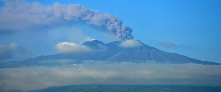 Etna in eruptie, Sicilia