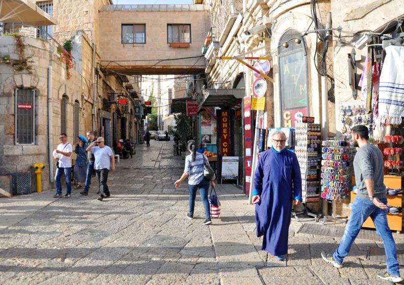 Prin Ierusalimul vechi