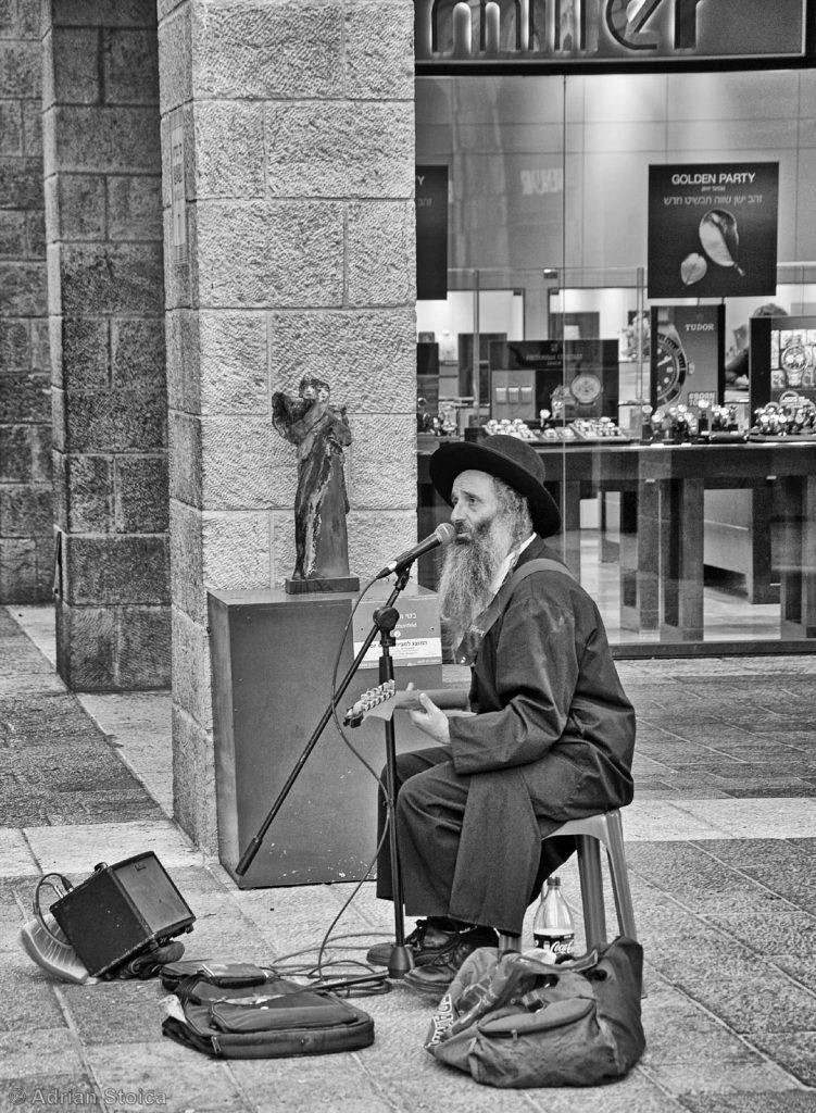 Muzica in zona Mamilla, Ierusalim